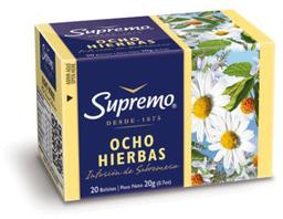 Aguita Ocho Hierbas 20 Bols