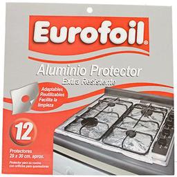 Aluminio Protector Cocina 12 Hj Eurofoil