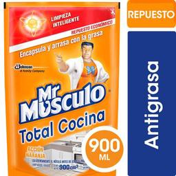Antigrasa Naranjo Rec 900cc Mr Musculo