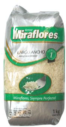 Arroz Miraflores Largo Ancho Grado 1 1 Kg