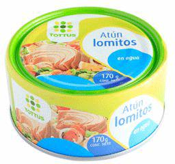 Atun Lomitos en Agua 170g Tottus