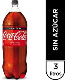 Bebida Coca Cola Zero 3lt Des.