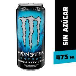 Monster Bebida Energetica Energy Absolutely Zero
