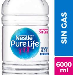 Agua purificada Nestlé Pure Life sin gas