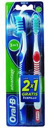 Cepillo Dental Advantage 2X1 Oral B