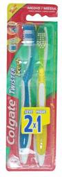 Cepillo Dental Twister Medio 2 X 1