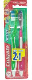 Cepillo Dental Twister Suave 2 X 1