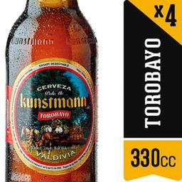 Kunstmann Pack 2 Unidade S Cerveza Torobayo Ale Long Neck