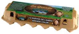 Huevo Gallina Libre 12 un La Granja