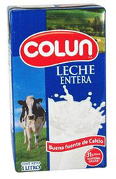 Leche Natural Colun S/T 1lt