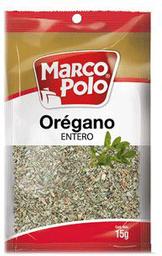 Condimento Oregan Entera Marco Polo 20 G
