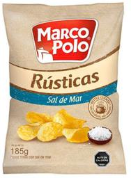 Papas Fritas Rusticas Sal de Mar Marco Polo 185g