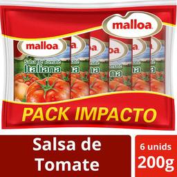 Pack Salsa Malloa Bolsa 200g