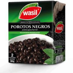 Porotos Negros Tetra 380g Wasil