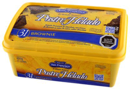 Postre Helado Brownie 1lt