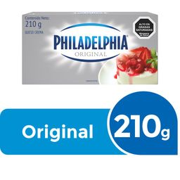 Queso Crema Philadelphia 210g