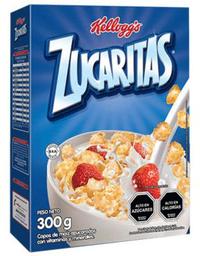 Cereal Zucaritas Hojuelas de Maíz Azucaradas 300 g