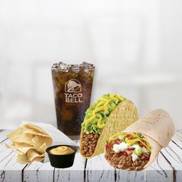 Combo 5 Burrito Supreme + Taco Crunchy + Bebida de 350cc