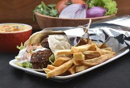 Shawarma Wrap Falafel
