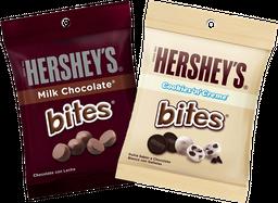 Promo: 2x Chocolate Hershey's Bites 43g Variedades