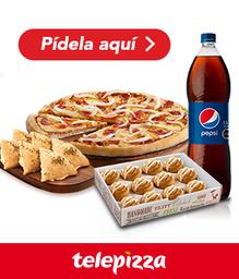 Promo especial Pizza mediana