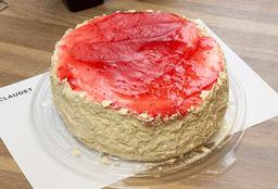 Torta Hojarasca Manjar Frambuesa