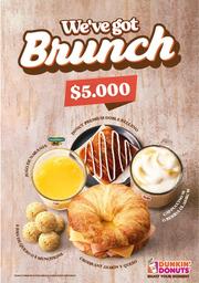 🍩 Dunkin Brunch