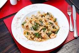Thai Shrimp Fetuccini
