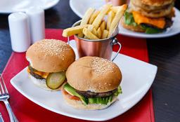 Two Mini Burger