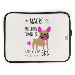 Funda Ipad Bull Dog Frances Cafe