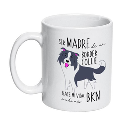 Tazon Ceramico Border Collie