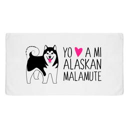 Toallas Alaskan Malamute