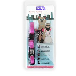 Collar Mini Petfy Qr Rosado