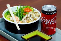 Gohan (Pollo Teriyaki o camarón) + Bebida