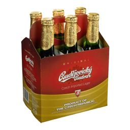Czechvar 6 pack botella 330cc
