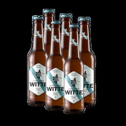 Limburgse Witte 6 pack botella
