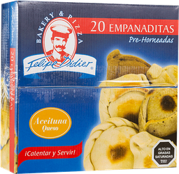 Empanada Aceituna Queso Coctel