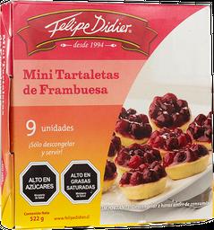 Tartaleta de Frambuesa Mini