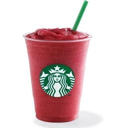 Frambuesa Frappuccino