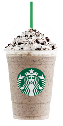 Cookies and Cream Frapuccino