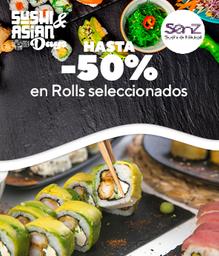 Promo Sushi Days 5 Rolls....