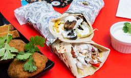 Combo Shawarma Mixto - Falafel