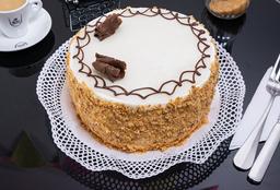 Bizcocho Manjar y Crema Pastelera