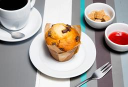 1 Muffin  + Café cortado