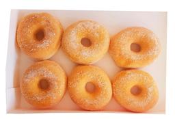 Donuts Azucaradas 6 unidades