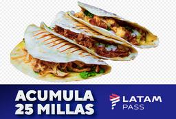 Promo pack MEXA 2 + 25 Millas LATAM