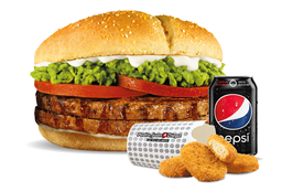 Combo Hamburguesa Normal con Nuggets