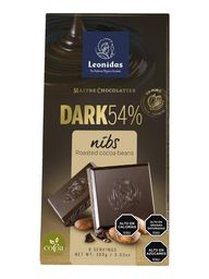 Barra Dark 54% Nibs 100 grs.