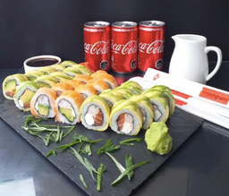 Combo Avocado & Sake Roll