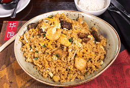 🧆 Fried Rice Combo (4 Proteínas)